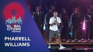 Pharrell Williams performs Letter To My Godfather | Global Citizen Festival NYC 2019