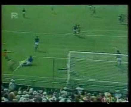 Italy 3 v 2 Brazil at world cup 1982. Classic match