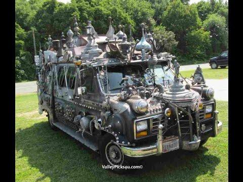 Coooooolest StEaMpUnK Van Ever!