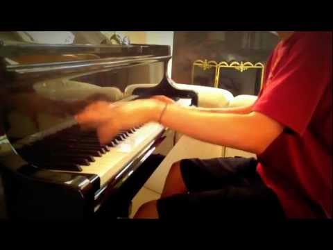 """Through the Fire and Flames"" - DragonForce - (Piano Cover)"