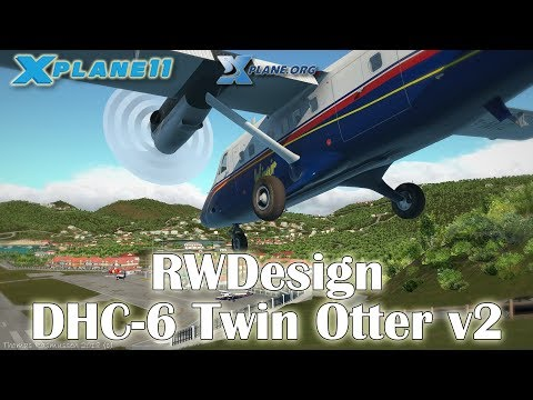 RWDesign - DHC-6 Twin Otter v2 for X-plane 11