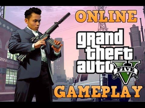 GRAND THEFT AUTO 5 GAMEPLAY!!
