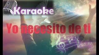 Karaoke Inmer Benitez yo necesito de ti