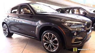 2015 BMW X6 xDrive 35i - Exterior and Interior Walkaround - 2015 Ottawa Gatineau Auto Show