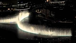 Nhạc nước hoành tráng nhất- Superrrrrrrrrrrrrrr #Dubai Fountain 2010 Thriller Michael Jackson