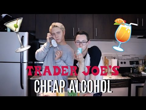 Trying Trader Joe's $1 Wine | Mother's Day Mango Spritzer