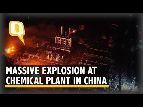 44 Killed as Powerful Explosion Rocks China Chemical Plant