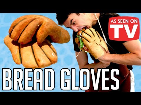 Lori - The Weirdest Thing I've Seen All Week: A Guy Makes Gloves Out of Bread