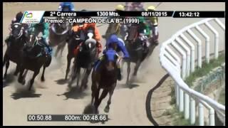 Vidéo de la course PMU PREMIO CAMPEON DE LA B