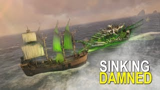 SINKING DAMNED SHIPS FOR LOOT - ATLAS (OFFICIAL PVP) -EP.4