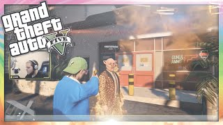GTA 5 PC Funny Moments - Flare Guns & Golf Carts! (GTA Online Funny Moments)