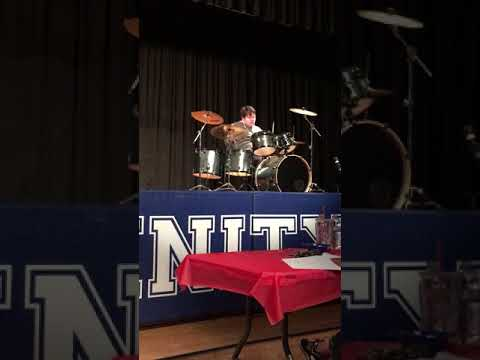 Will Wallace  Mr. Trinity 2018 Drum Solo