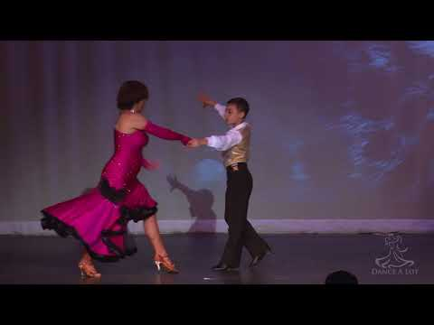 Latin dance: Eye Of The Tiger - Anthony Kanev and Adriana