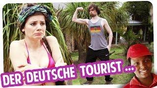 Der deutsche Tourist auf großer Reise!