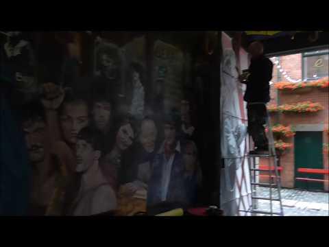 Danny Devenny & Marty Lyons Top Street Artists/Muralists