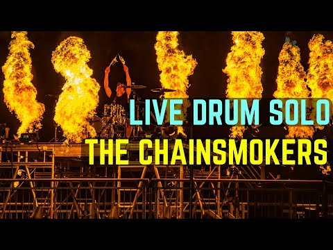 LIVE DRUM SOLO WITH FIRE - Ultra Music Festival 2018 | Matt McGuire