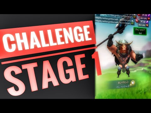 Lords Mobile - Barbarian Limited Challenge Stage 1