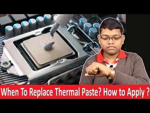When to Replace Thermal Paste? How to apply Thermal Paste On CPU? Types of Thermal Paste in Hindi