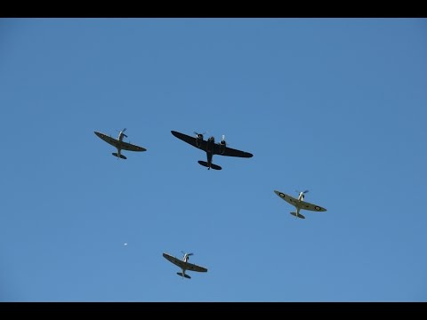 Battle of Britain Flypast with photos