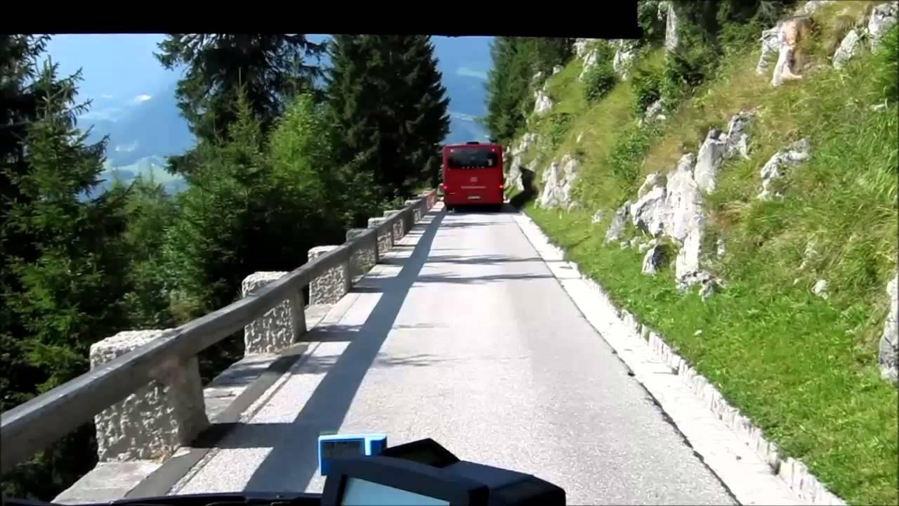 bus ride down from hitler 39 s eagle 39 s nest das kehlsteinhaus berchstesgaden germany youtube. Black Bedroom Furniture Sets. Home Design Ideas
