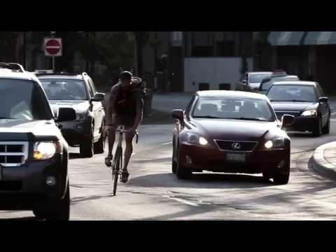 Bike messenger. Documentary directed by Jon Barber
