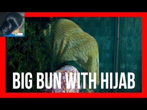 Big Bun With Hijab