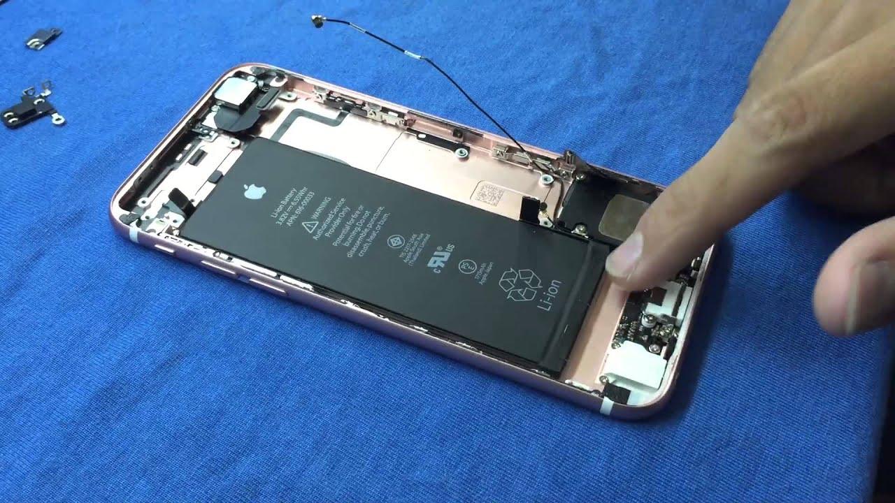 Tháo tung khám phá bên trong iPhone 6s – Truesmart.com.vn