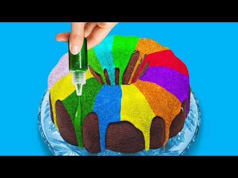 COLORFUL DESSERT DECORATING IDEAS    Sweet Decor Art by 5-Minute Recipes!