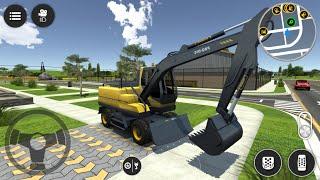 Ekskavatör Kepçe Oyun Simülatörü #2 || Drive Simulator 2 - Android Gameplay