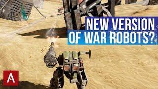 War Robots NEW VERSION? / Steam Beta Version PC Platform / WR Gameplay