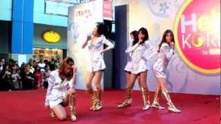 120728 Baby Blue + Crystal Quartz cover KARA @Hello Korea