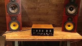Sansui AU-555a Vintage Stereo Amplifier