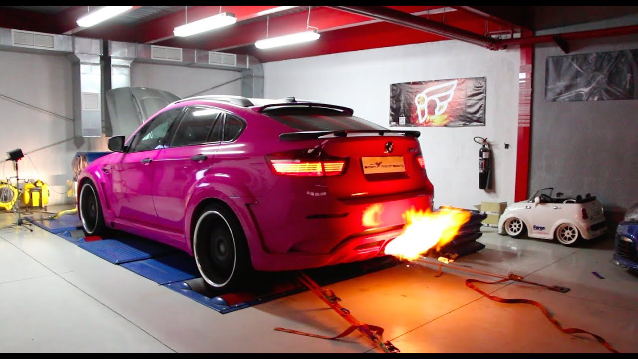 Bmw X6m Hello Kitty From Hell 666ps Simon Motorsport