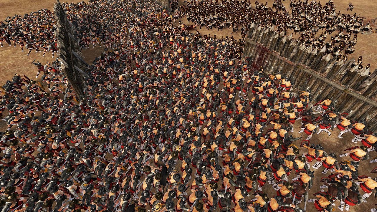 300 Spartans vs 3000 Romans Remade!! - YouTube