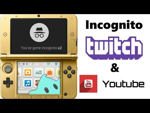 """How to Use """"Incognito Mode v2"""" - Setup your 3DS for Streaming Gameplay - Hiding from Tendy - Pt 3"""
