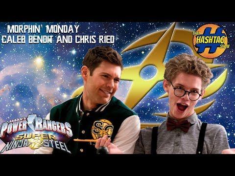 Power Rangers Ninja Steel's Victor & Monty: Caleb Bendit and Chris Reid: Morphin Monday