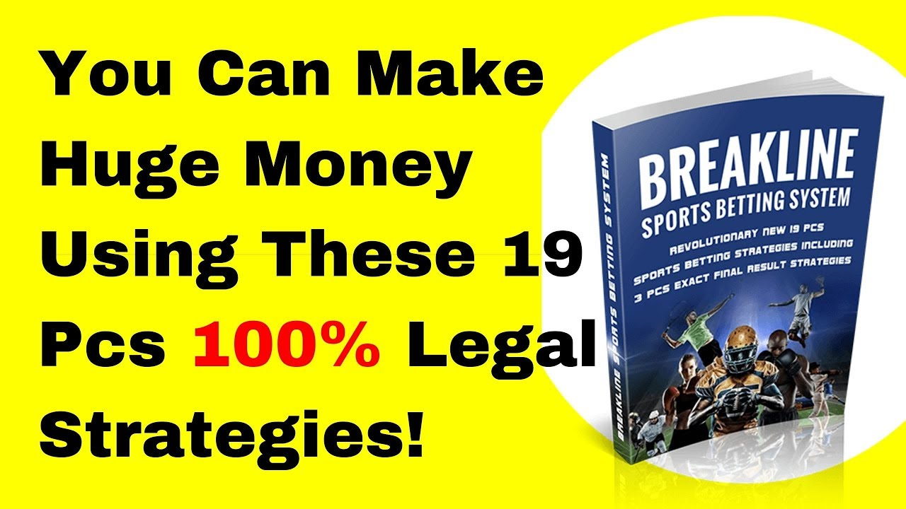 Breakline Sports Betting Training System - YouTube