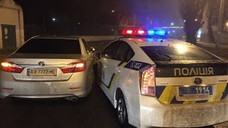ДТП с полицейским приусом с пострадавшими 15.02.2016