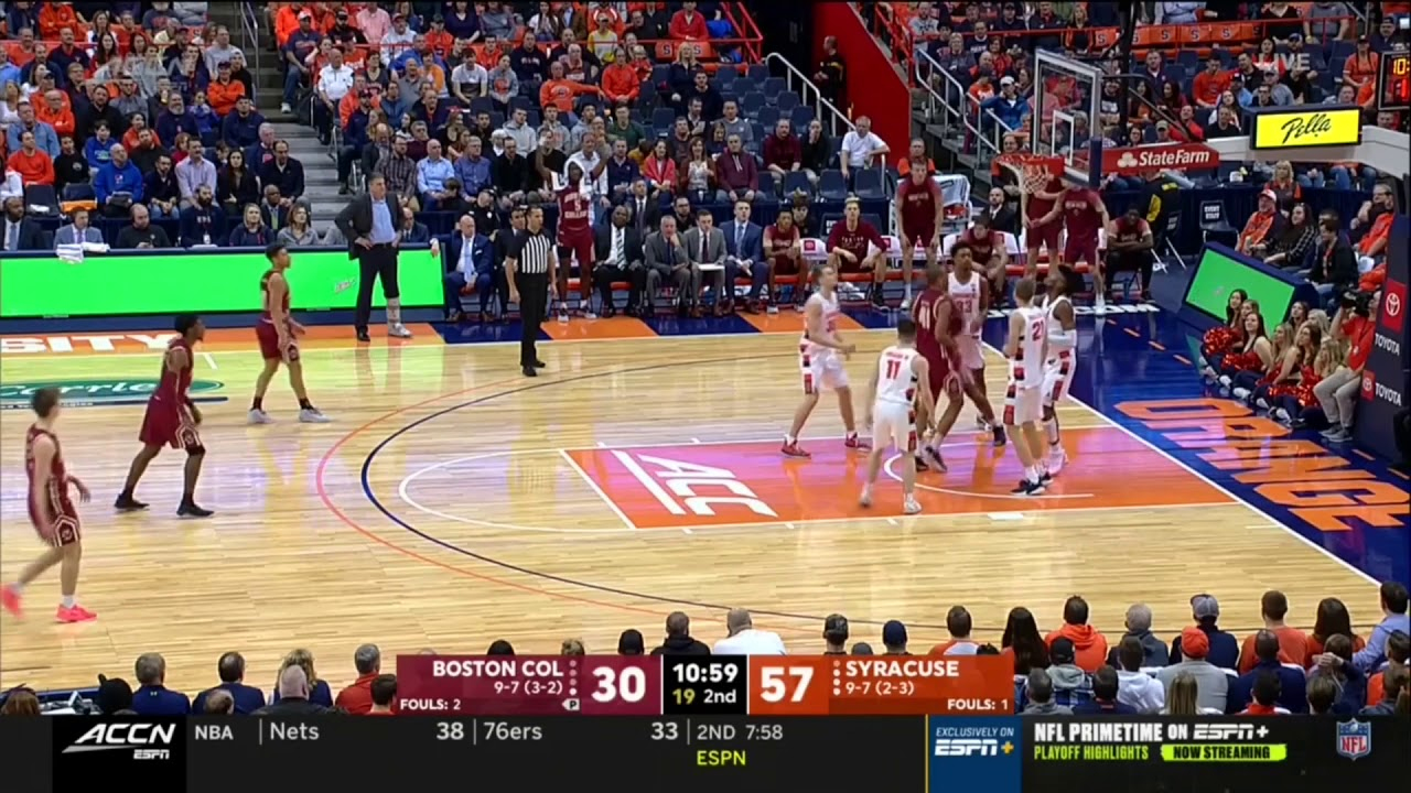 Syracuse Pounds Boston College At Carrier Dome 76 50 Full