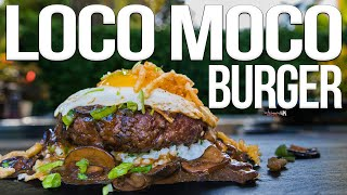 The Best Hawaiian Burger (Loco Moco) | SAM THE COOKING GUY 4K