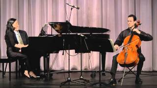 Ludwig van Beethoven: Opus 102, No. 1 Sonata for Violoncello & Piano