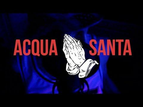 Delve - Acqua Santa Freestyle || OFFICIAL LYRICS VIDEO