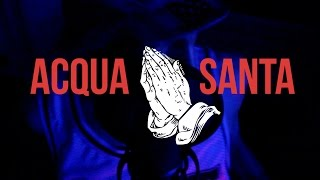Delve - Acqua Santa Freestyle || OFFICIAL LYRICS VIDEO