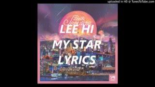 LEE HI - MY STAR // LYRICS (HAN-ROM)