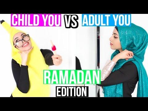 Child You VS Adult You Ramadan Edition!!