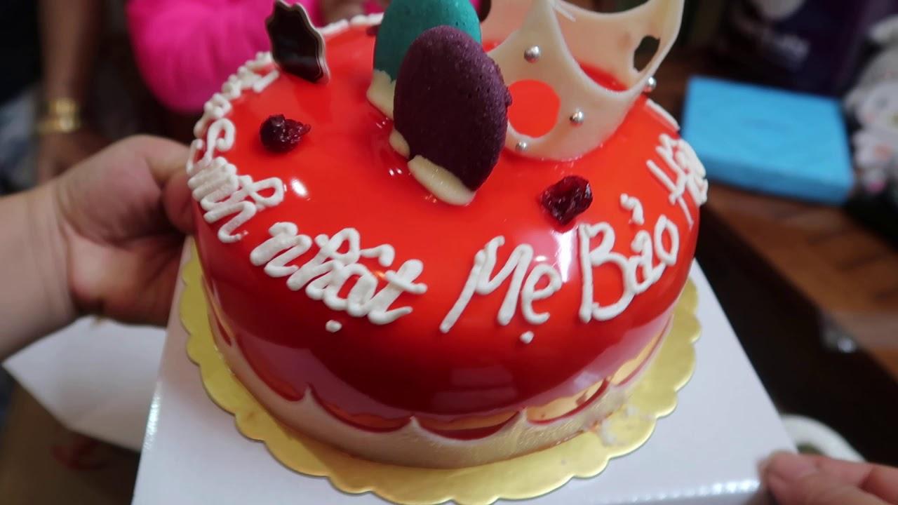 Giới thiệu về bánh sinh nhật paris gateaux ở Hà Nội - sinh nhật mẹ bảo hân 8/2/2020