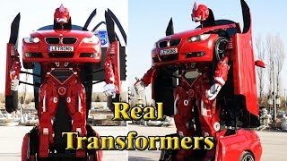 Some Real Transformers With AI Technology You Didn't Know Existed || Robot Cars For Future. thumbnail