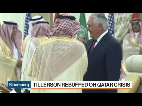 Tillerson Rebuffed on Qatar Crisis