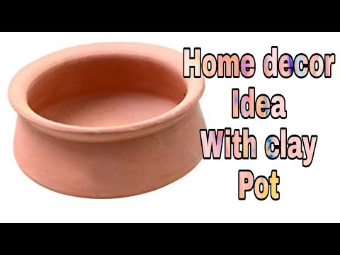 Terracotta pot decoration | How to decorate terracotta pot at home