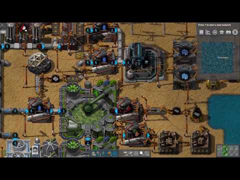 Factorio Seablock E03 - Steam Power Transition and First Science Setup